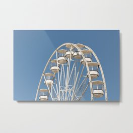 High In The Blue Sky 2 Metal Print