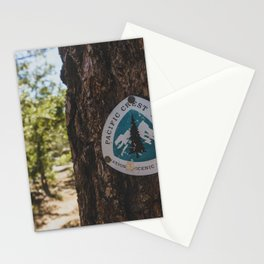 Marker - Pacific Crest Trail, California Stationery Cards