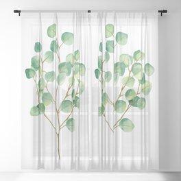 Eucalyptus 1 Sheer Curtain