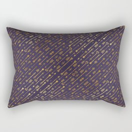 Golden Arrows Rectangular Pillow