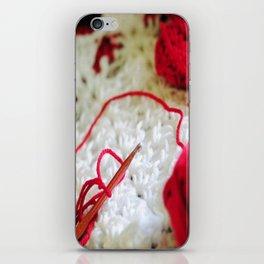 Crochet iPhone Skin