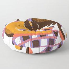 Cat Nap Floor Pillow