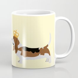 Royal Basset Hound Dog  Coffee Mug