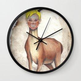 Deer Child Wall Clock