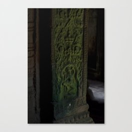 Bayon Temple Interior, Angkor Wat Canvas Print