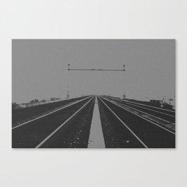 Tracks Less Travelled Canvas Print