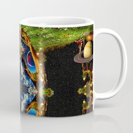 Diving To Another Dimension Coffee Mug