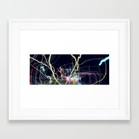 edm Framed Art Prints featuring EDM by MOKEE3