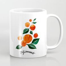 Orange Tree Coffee Mug