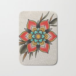 The flowers that be Bath Mat