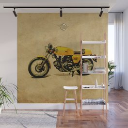 750 GT 1973 classic motorcycle Wall Mural