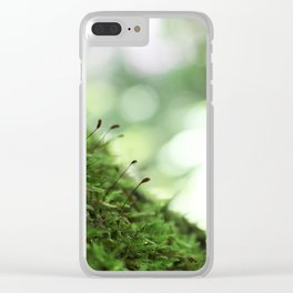 Moss 4 Clear iPhone Case