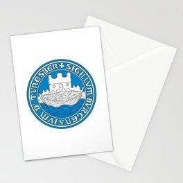 flag of Tønsberg Stationery Cards