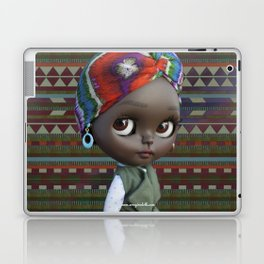 JANET BLYTHE DOLL BY ERREGIRO Laptop & iPad Skin