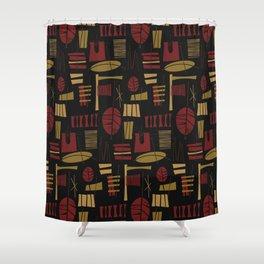 Fonualei Shower Curtain