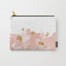 Gold In The Blush Carry-All Pouch