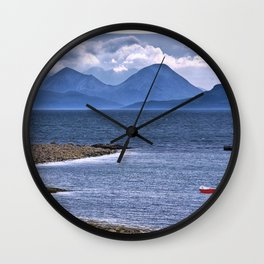 Over the Sea to Skye Wall Clock