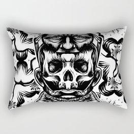Face helmet Rectangular Pillow