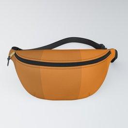 Orange Brown Stripes Fanny Pack