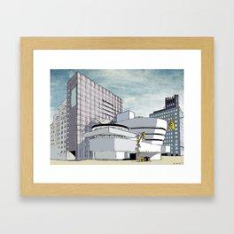 Salomon R. Guggenheim Museum, New York City Framed Art Print