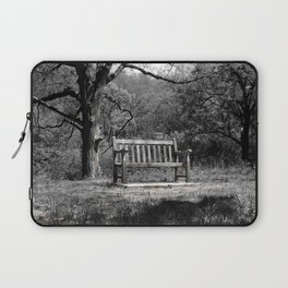 Park Bench Laptop Sleeve