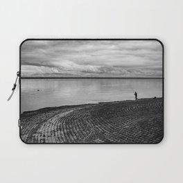 The fishing shadow Laptop Sleeve