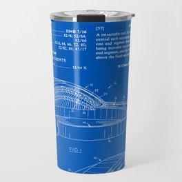Stadium Patent - Blueprint Travel Mug