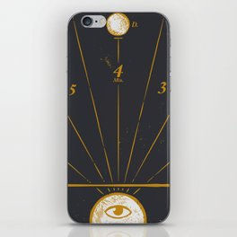 Time Travel iPhone Skin