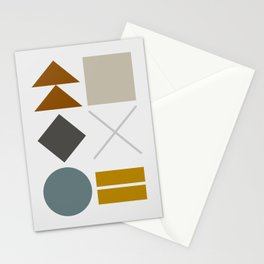 Mid West Geometric 03 Stationery Cards