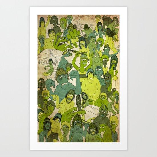 Party Hardy Art Print