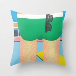 About to make a bigger splash Throw Pillow