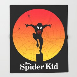 The Spider Kid Throw Blanket