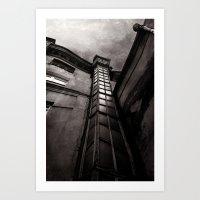 dark tower Art Prints featuring The Dark Tower by Margarita Dunwich