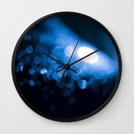 Nighttime macro Wall Clock