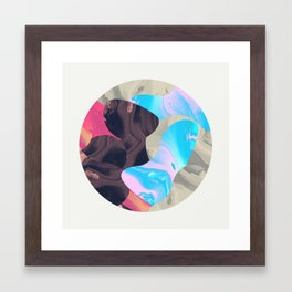 Magma Framed Art Print