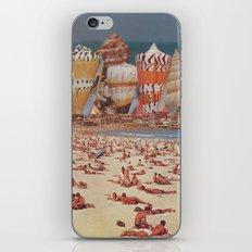 Bondi Sand Castles iPhone & iPod Skin