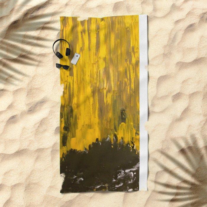 Golden Dream Beach Towel