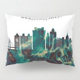 Bengaluru Skyline Pillow Sham