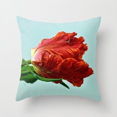 American Tulip Throw Pillow