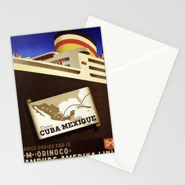 Nostalgie Cuba Mexique Stationery Cards