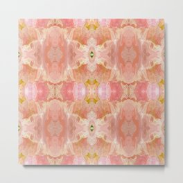 151 - abstract floral pattern Metal Print
