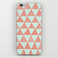 try-angles iPhone & iPod Skin