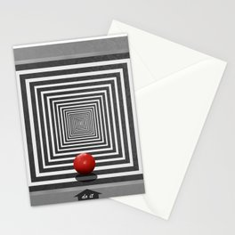 Do it if you want it Stationery Cards