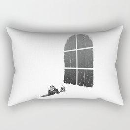 Camping Inside Rectangular Pillow