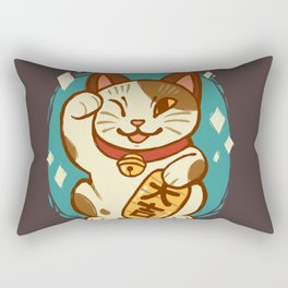 Lucky Cat Rectangular Pillow
