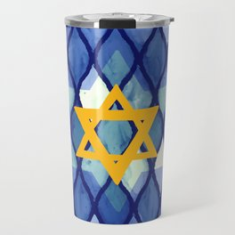 Jewish Celebration Travel Mug