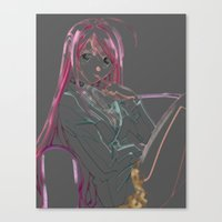 anime Canvas Prints featuring Anime by RickOlson