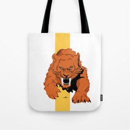 Saber Tooth Tote Bag