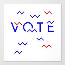Vote Baby Vote 040516 Canvas Print