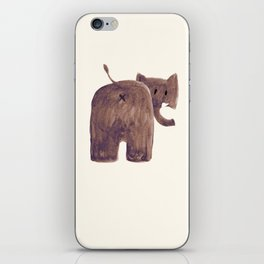 Elephant's butt iPhone Skin